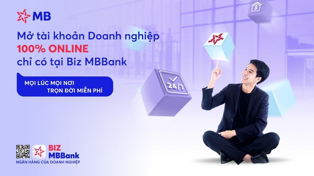 Doanh nghiệp có thể giải quyết tất cả nhu cầu về vốn qua BIZ MBBank