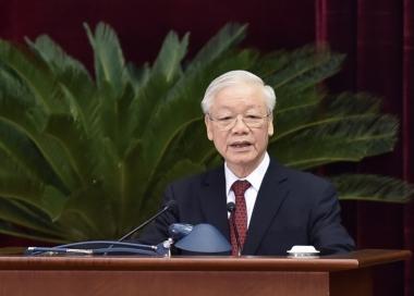 Tổng Bí thư Nguyễn Phú Trọng khai mạc Hội nghị Trung ương 4