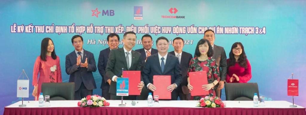 MB và Techcombank đồng hành cùng PVPower thu xếp nguồn vốn cho dự án điện khí lng đầu tiên tại Việt Nam
