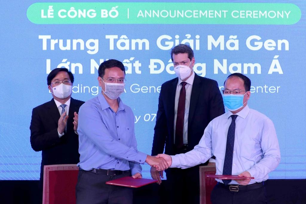 Genetica chọn NIC để phát triển Trung tâm giải mã gen lớn nhất Đông Nam Á