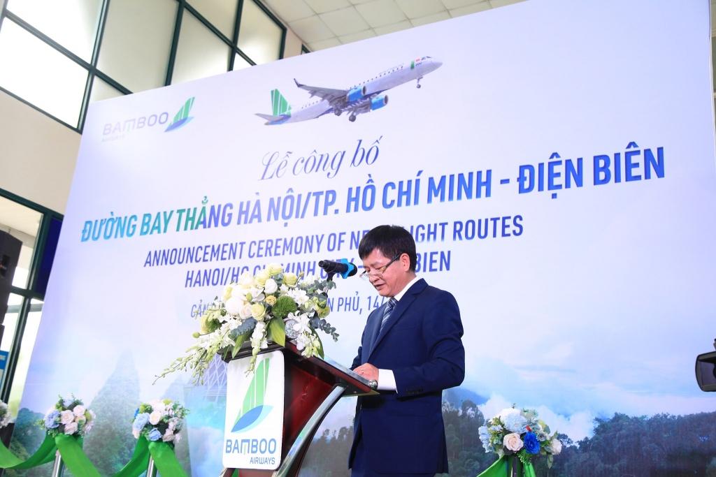 Điện Biên lần đầu tiên có đường bay thẳng thương mại khai thác bằng phản lực khu vực