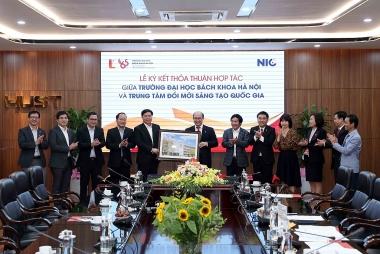 Chung tầm nhìn về đổi mới sáng tạo, NIC hợp tác với Trường đại học Bách khoa Hà Nội