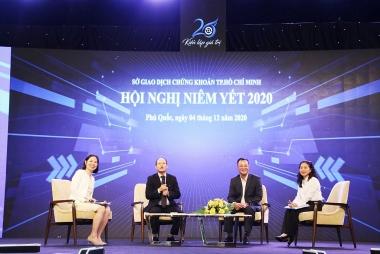 Công bố các doanh nghiệp vào chung khảo Cuộc bình chọn Doanh nghiệp niêm yết 2021