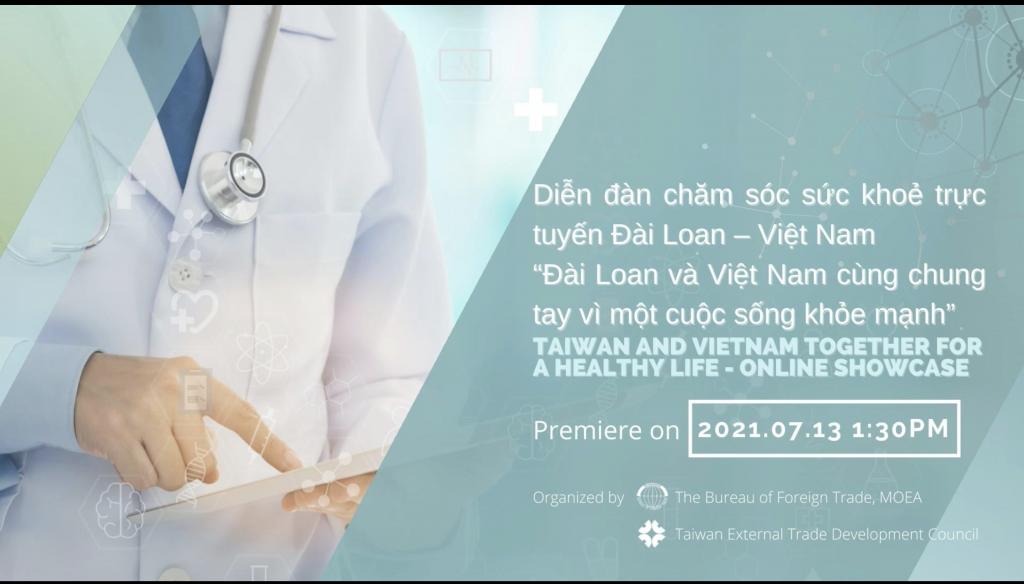 Doanh nghiệp Việt Nam và Đài Loan hợp tác về chăm sóc sức khỏe thông minh