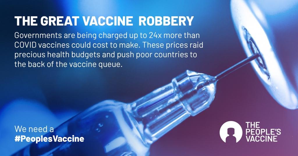 Độc quyền khiến giá vaccine Covid-19 tăng ít nhất 5 lần