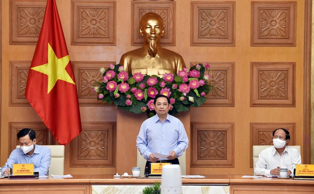 Thủ tướng Phạm Minh Chính: Chính phủ luôn đồng hành cùng doanh nghiệp