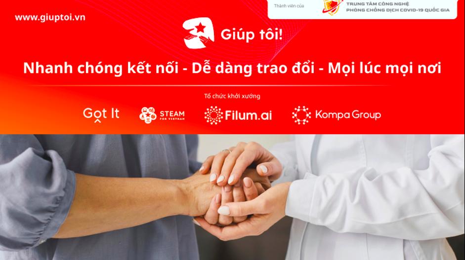 Ứng dụng trực tuyến Giúp tôi: Giúp đỡ 1 người chỉ trong 15 phút