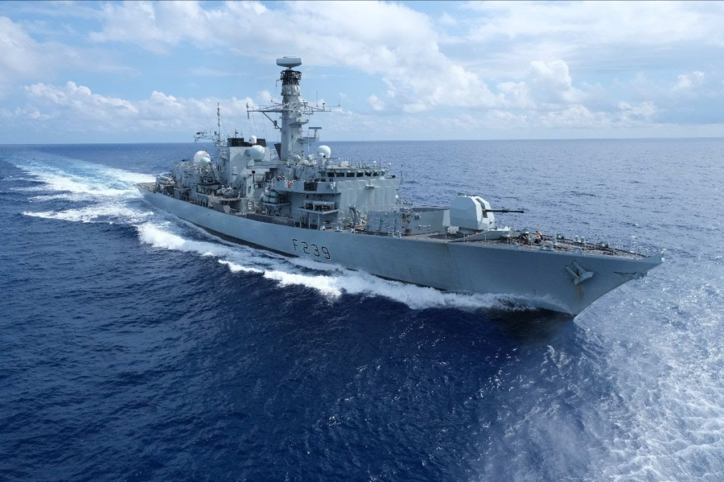 Tàu Hải quân Hoàng gia Anh HMS Richmond tới thăm Việt Nam