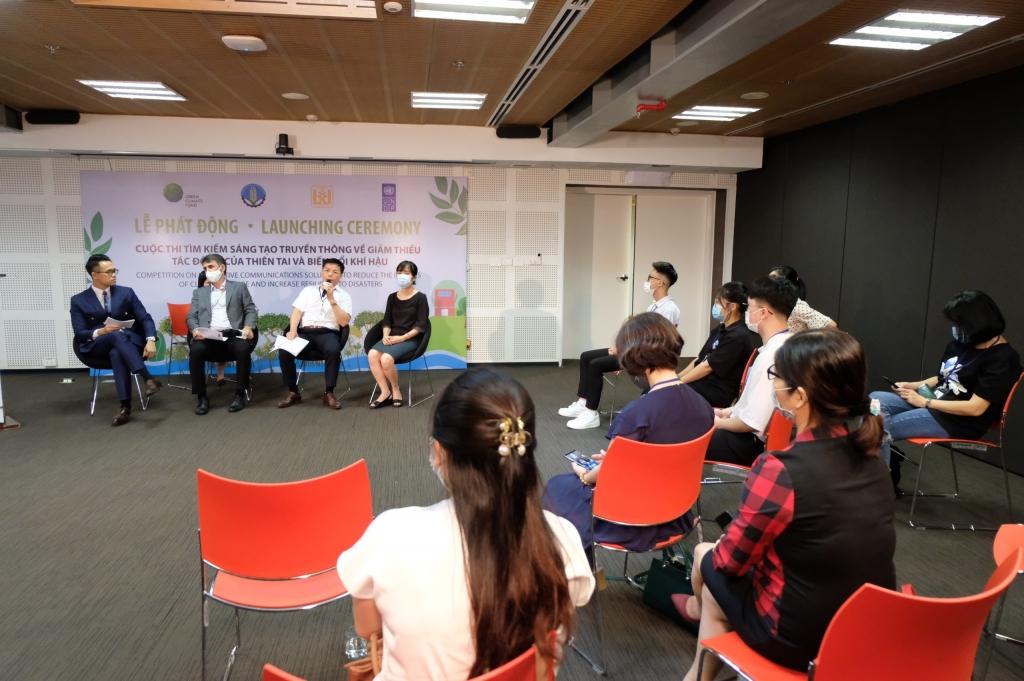 Phát động cuộc thi sáng tạo truyền thông về giảm thiểu tác động thiên tai và biến đổi khí hậu