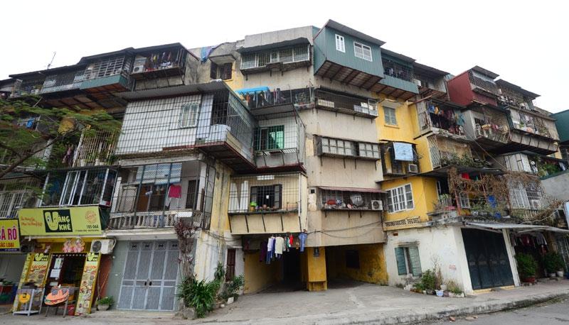Ban hành quy định về nhà chung cư thuộc diện phải phá dỡ để xây dựng lại