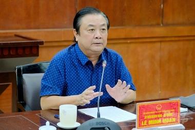 Bộ trưởng Lê Minh Hoan: Phải có tư duy sâu sắc về làm kinh tế nông nghiệp