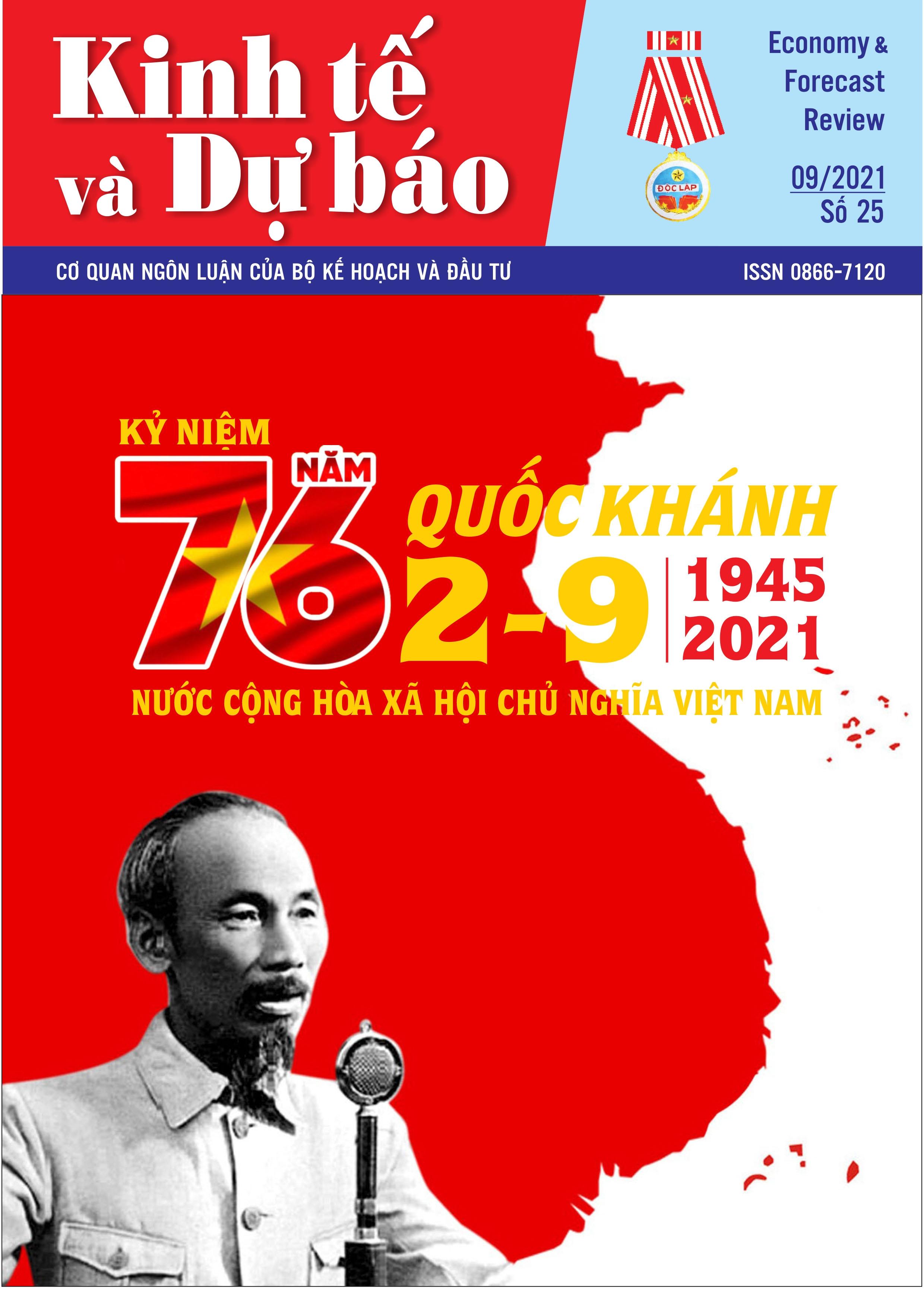 Giới thiệu Tạp chí Kinh tế và Dự báo số 25 (779)