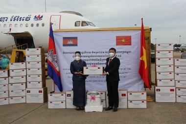 Campuchia hỗ trợ chính quyền và nhân dân TP. Hồ Chí Minh ứng phó dịch Covid-19
