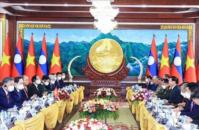 Việt Nam – Lào thắt chặt hợp tác trên mọi lĩnh vực
