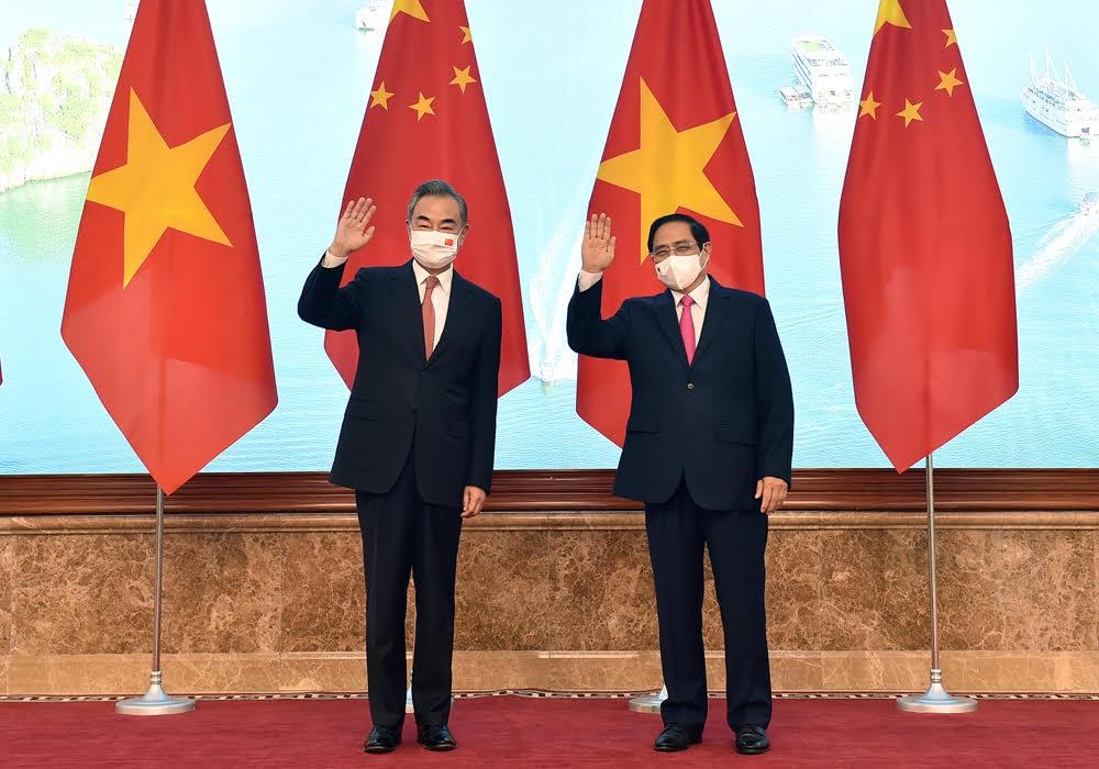 Thủ tướng tiếp Bộ trưởng Ngoại giao Trung Quốc