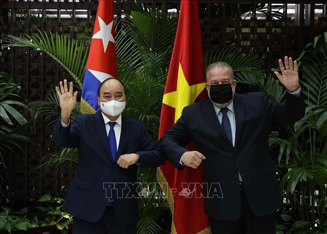 Việt Nam mong muốn Cuba chuyển giao công nghệ sản xuất vaccine Covid-19