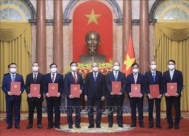 Bổ nhiệm 8 đại sứ, trưởng cơ quan đại diện Việt Nam ở nước ngoài