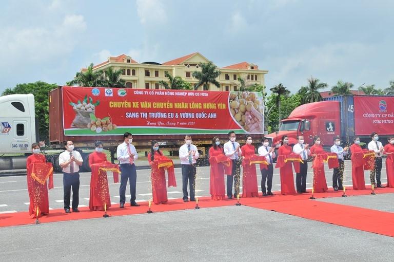 Nhiều cơ hội cho tiêu thụ nhãn và nông sản của tỉnh Hưng Yên