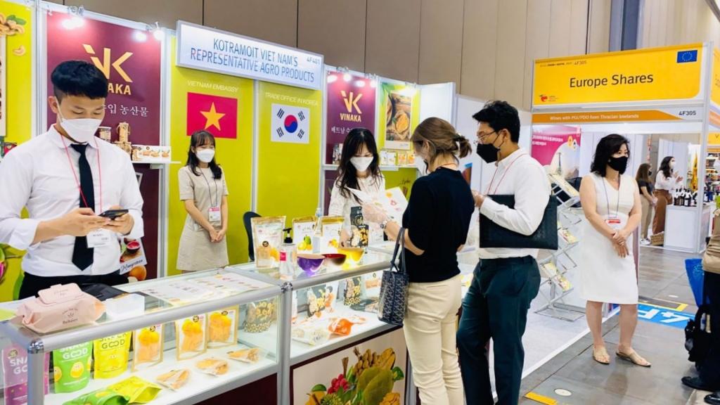 Thúc đẩy xuất khẩu trái cây Việt Nam sang Hàn Quốc