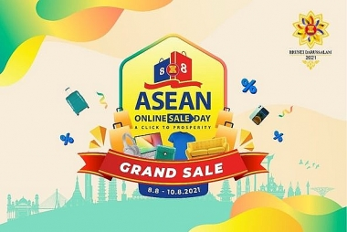 Sôi động Ngày mua sắm trực tuyến ASEAN 2021