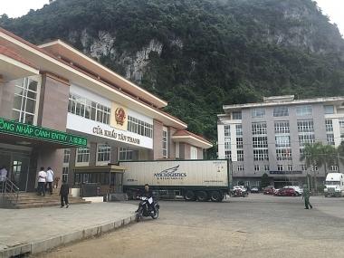 Cửa khẩu Tân Thanh, Lạng Sơn trở lại bình thường từ hôm nay (18/8)