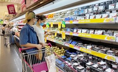 """Giá lương thực, thực phẩm tăng """"đẩy"""" CPI tháng 8 tăng"""