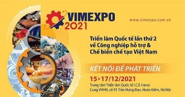 Tháng 12/2021 sẽ diễn ra Triển lãm quốc tế về công nghiệp hỗ trợ và chế biến, chế tạo