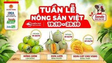 Tiếp tục đẩy mạnh hoạt động tiêu thụ nông sản Việt trực tuyến